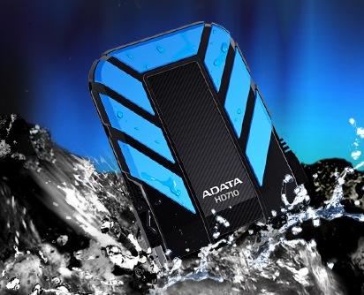 ADATA DashDrive Durable HD710 Rugged USB 3.0 Hard Drive