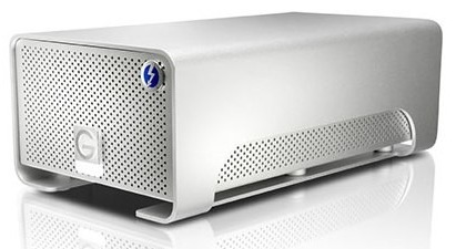 G-Technology G-Raid with Thunderbolt Dual-drive Storage Device 1