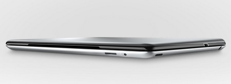Logitech Ultrathin Keyboard Cover for iPad 3rd Gen side