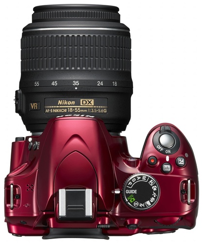 Nikon D3200 Entry-level DSLR Camera top