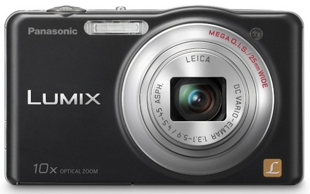 Panasonic LUMIX DMC-SZ1 10x zoom slim camera black