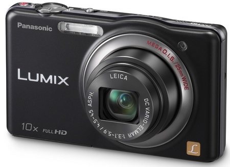 Panasonic LUMIX DMC-SZ7 10x zoom slim camera