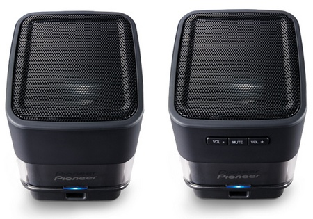 Pioneer S-MM201 USB Laptop Speakers black