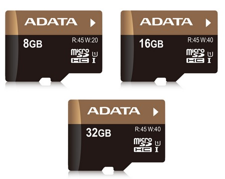 ADATA Premium Pro microSDHC UHS-I U1 Memory Cards