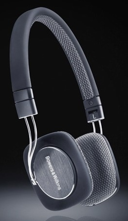 Bowers & Wilkins P3 Mobile HiFi Headphones black