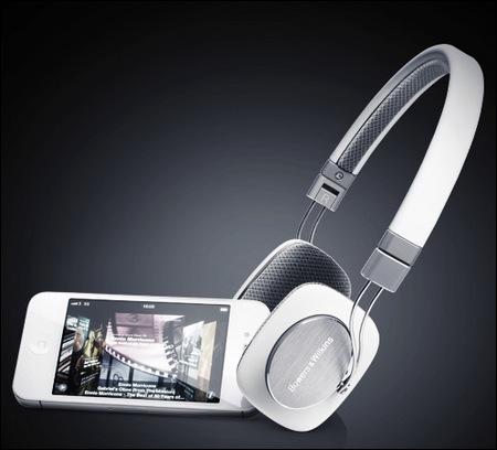 Bowers & Wilkins P3 Mobile HiFi Headphones white