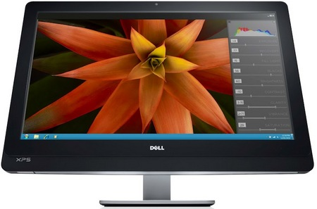 Dell XPS One 27 All-in-One Computer with 2560x1440 Screen front