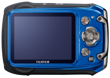 FujiFilm FinePix XP170 Rugged Camera blue back