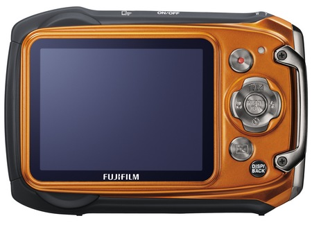 FujiFilm FinePix XP170 Rugged Camera orange back