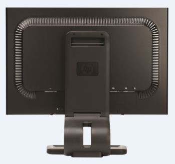 HP Compaq LA2405x 24-inch Full HD LED Display back