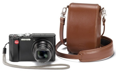 Leica V-Lux 40 Compact Digital Camera with leather case
