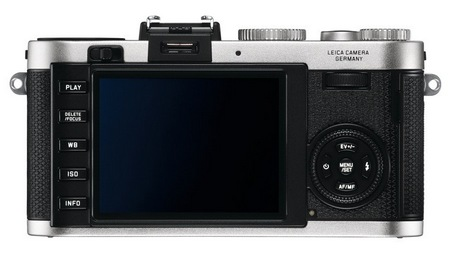 Leica X2 Compact Camera with APS-C Professional Sensor silver back