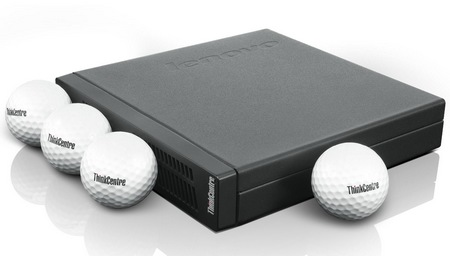 Lenovo ThinkCentre M92p Tiny 'Golf Ball-Wide' Sized Desktop PC