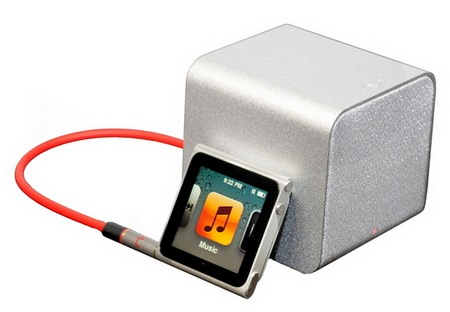 NuForce Cube combines Portable Speaker, Headphones Amplifier and USB DAC silver