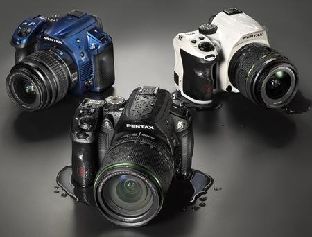 Pentax K-30 Weather Resistant DSLR Camera colors