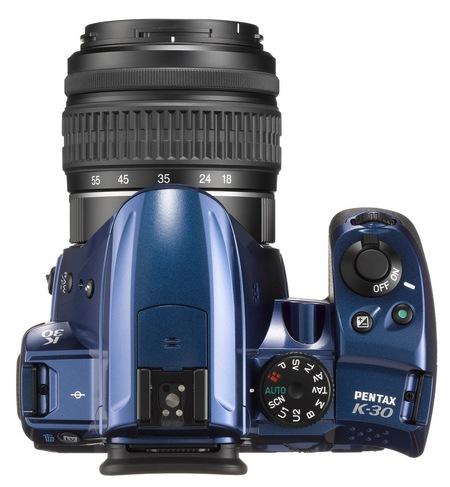 Pentax K-30 Weather Resistant DSLR Camera top