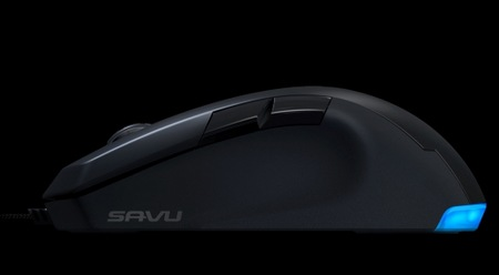 ROCCAT Savu Mid-size Hybird Gaming Mouse side
