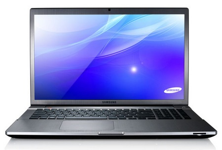 Samsung 17-inch Series 7 CHRONOS Notebook with Ivy Bridge front