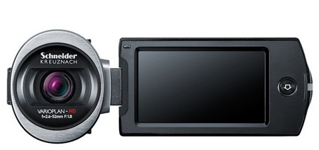 Samsung HMX-QF20 SMART Camcorder with WiFi front