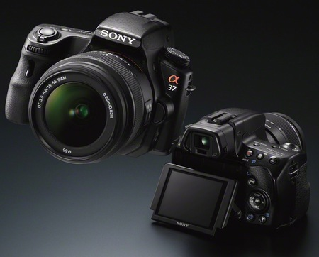 Sony Alpha SLT-A37 Entry-level DSLR Camera