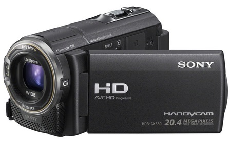 Sony Handycam HDR-CX580V Full HD Camcorder 1