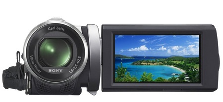 Sony Handycam HDR-PJ200 Entry-level Projector Camcorder front