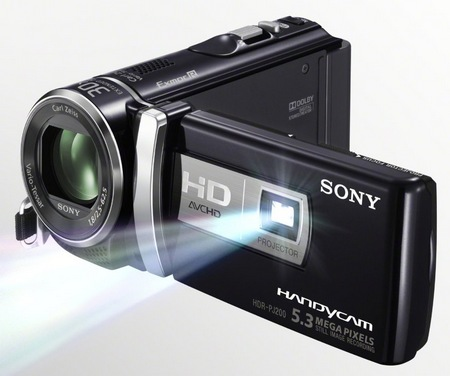 Sony Handycam HDR-PJ200 Entry-level Projector Camcorder