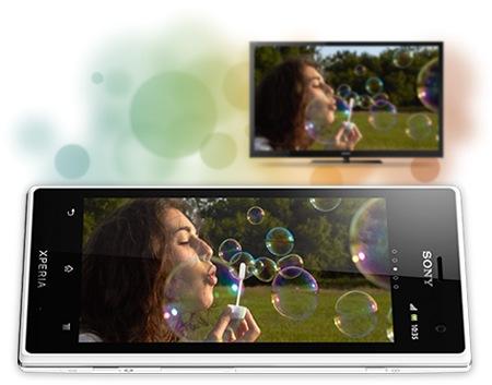 Sony Xperia acro S Waterproof Smartphone white 1