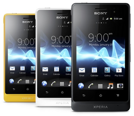 Sony Xperia go Smartphone with IP67 Dust and Water Resistance colors