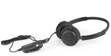 Tivoli Audio Radio Silenz Active Noise canceling Headphones black ash