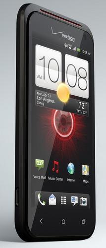 Verizon HTC DROID INCREDIBLE 4G LTE Smartphone angle