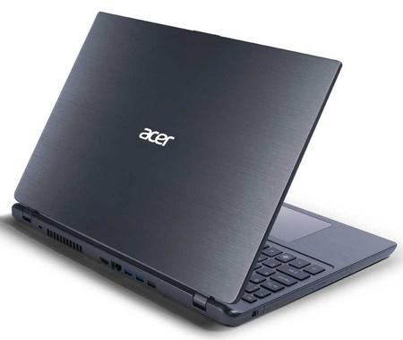 Acer Aspire Timeline Ultra M5 Ultrabooks back