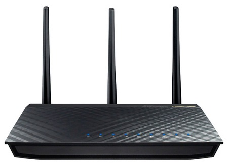Asus RT-AC66U 802.11ac Dual-Band Router front