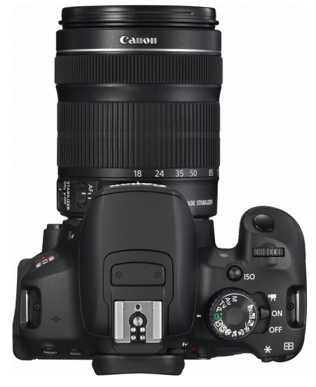 Canon EOS Rebel T4i 650D Digital SLR Camera top