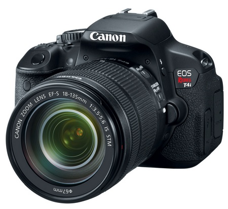 Canon EOS Rebel T4i 650D Digital SLR Camera