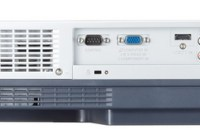 Canon LV-8227A, LV-7392A, LV-7297M, and LV-7292M Affordable Portable LCD Projectors back