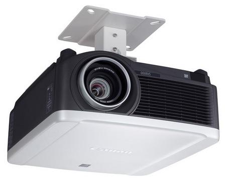 Canon REALiS SX6000 and REALiS WX6000 Pro AV Series Multimedia LCOS Projectors installation