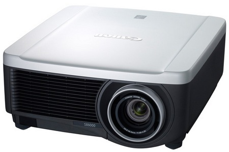 Canon REALiS SX6000 and REALiS WX6000 Pro AV Series Multimedia LCOS Projectors