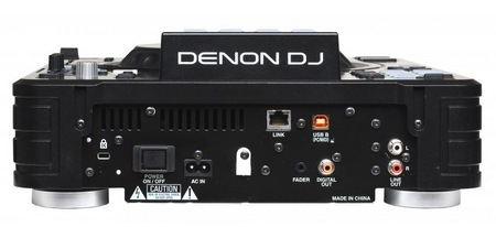 Denon SC2900 DJ Controller and Media Player back