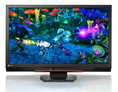 EIZO FORIS FS2333 'Smart' Gaming Monitor with IPS and LED-backlit front