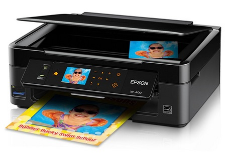 Epson Expression Home XP-400 Small-in-One Wireless Printer 1
