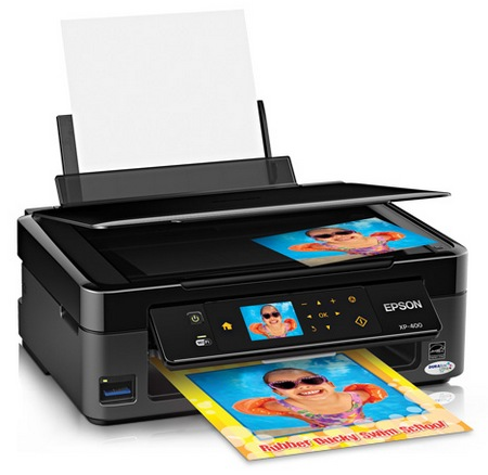 Epson Expression Home XP-400 Small-in-One Wireless Printer 2