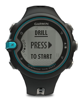 Garmin Swim Training Watch for Swimmers front