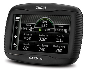 Garmin zumo 350LM GPS Navigator for Motorcyclists 2
