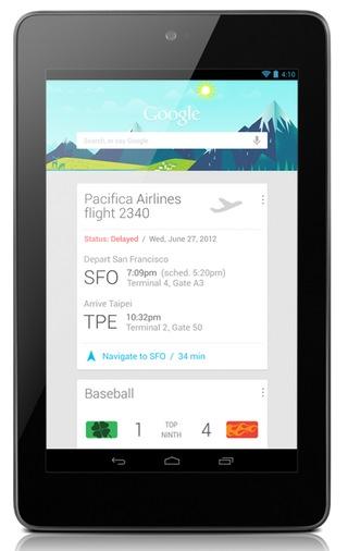 Google Nexus 7 by Asus Tegra 3 Tablet 2