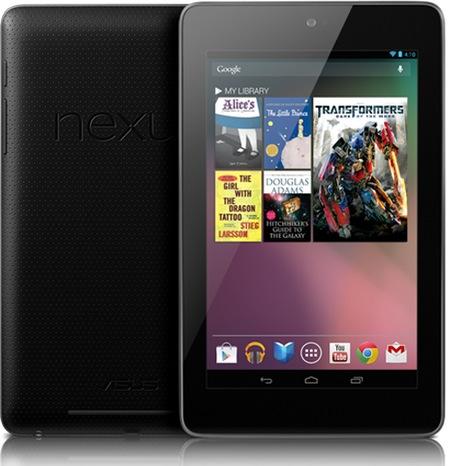 Google Nexus 7 by Asus Tegra 3 Tablet