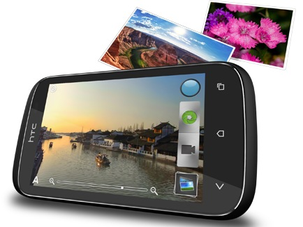 HTC Desire C Budget Smartphone camera