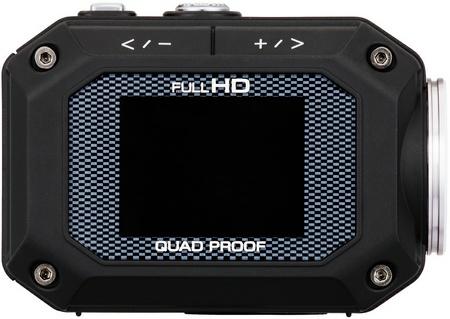 JVC ADIXXION GC-XA1 Quad-proof Rugged Action Camera lcd display