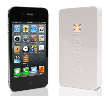 Lantronix xPrintServer Home Edition with iphoe
