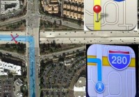 Maps icon of iOS 6 gives wrong direction